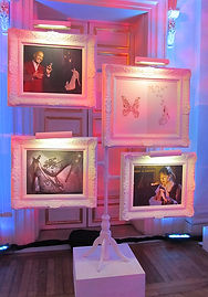 Art from our Cinderella/Christian Louboutin Event