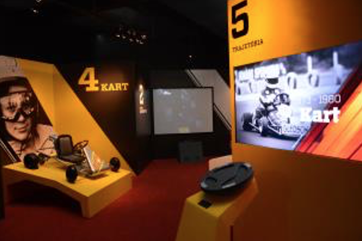 Formula One Interactive Exhibition