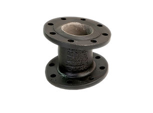 Ductile Iron Double Flange Bend - 11.25