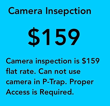 Omaha Drain Sewer Camera Inspection $159