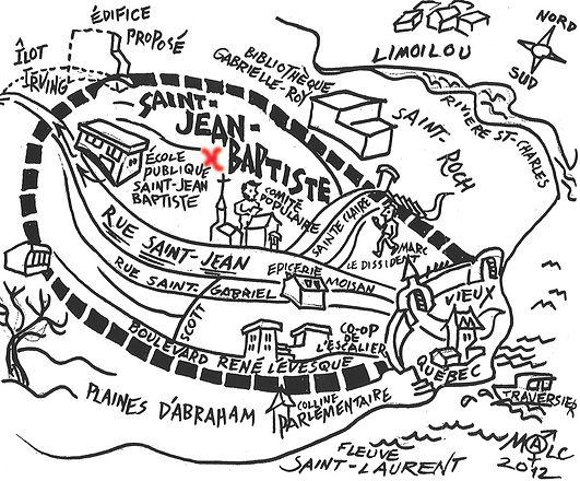 Plan dessin de la location de tattoo calypso