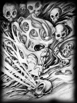 Faites vous faite un modèle de tatouage sur mesure chez tatouage Calypso.
