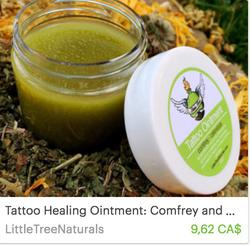Littletree naturals tattoo ointment