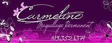 Carmeline permanent make-up official banner