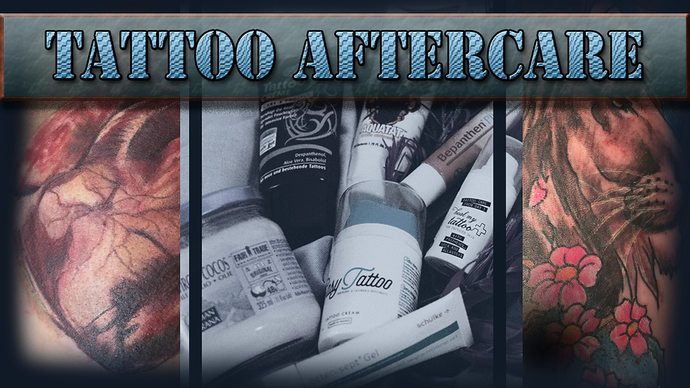 Tattoo aftercare give it some heart Buy your creams here.
