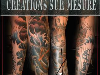 Tatouage ville de Québec, le prix. Un studio de tattoo: ville de Québec, sans attente.
