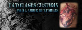 Tatouages Custom pour l'amour du tatouage