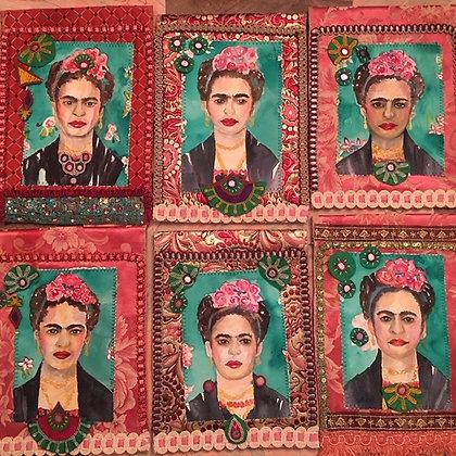 Frida Tiles, wall hangings and pillows