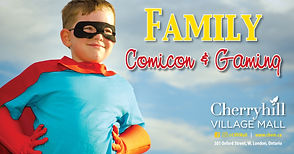 Promotional banner associated with Family Comicon.
