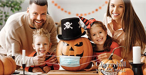 Promotional banner associated with Mall'oween