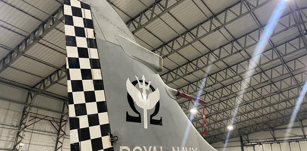 Sea Harrier FA2 ZH798 Tail