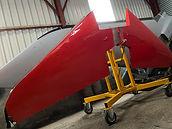 BAe Red Hawk Tailplane on Stand