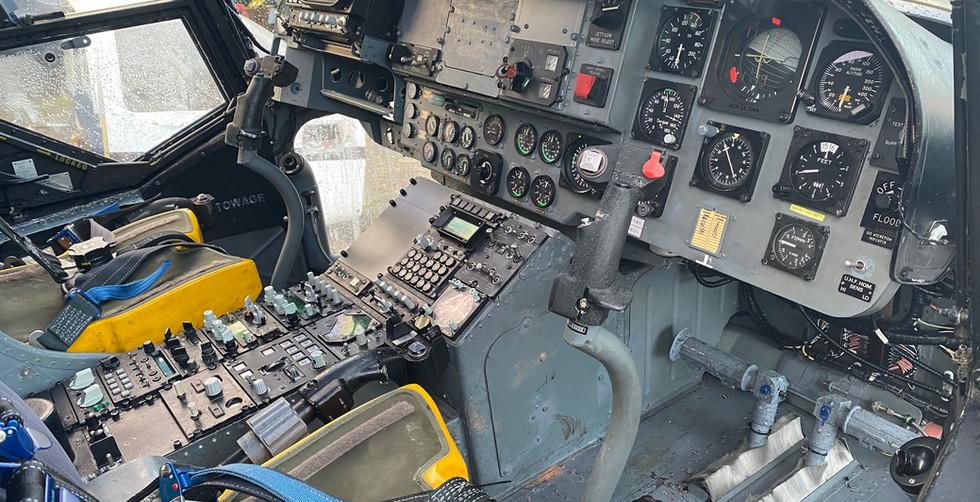 Westland Lynx XZ233 Interior