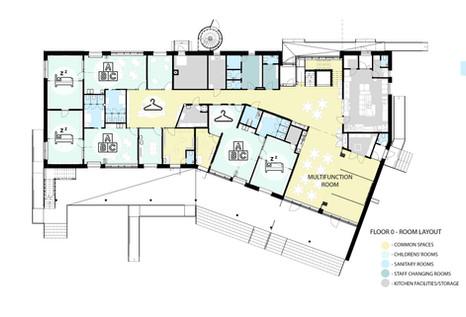Floor 0 - room layout