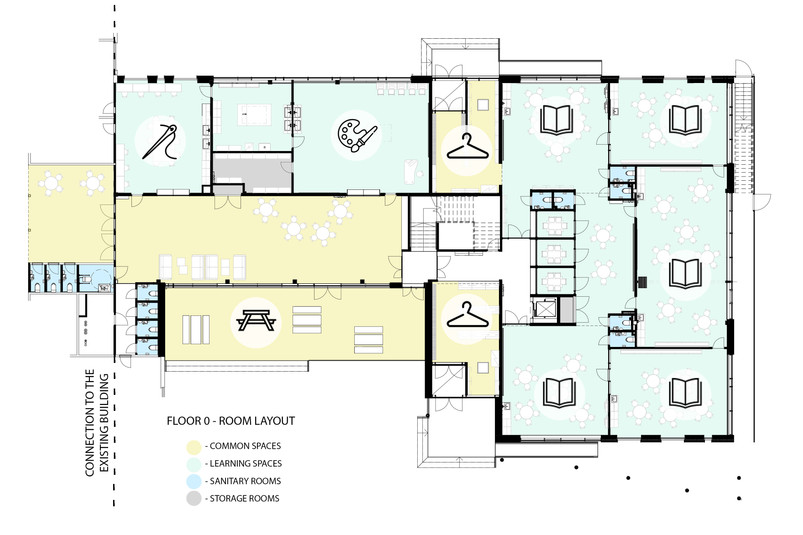 Floor 0 - room layout