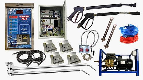 Полный комплект оборудования для 1 поста МСО CWS «AES FC-2 V5.2»