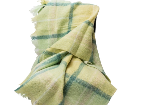 ST. PIERRE LEWE MOHAIR THROW