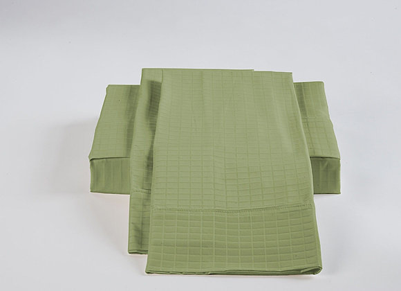 ST. PIERRE 60% BAMBOO/40% COTTON SHEET SET SAGE