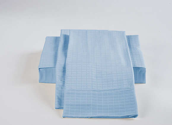 ST. PIERRE 60% BAMBOO/40% COTTON SHEET SET BLUE