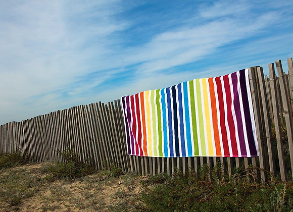 GRACCIOZA FUN BEACH TOWEL MADE IN PORTUGAL