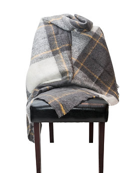 ST. PIERRE REENVAL MOHAIR THROW