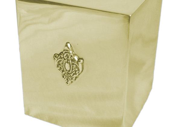 ST. PIERRE CLASSIC SILVER TISSUE BOX