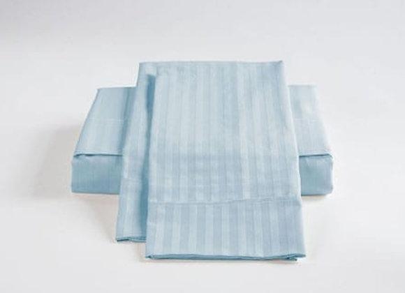 ST. PIERRE 450 TC SHEET SET ICE-BLUE
