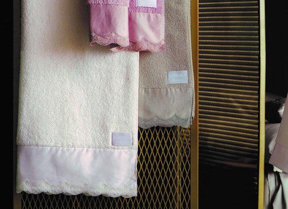 LA PERLA VITA NOVA GUEST AND HAND TOWEL SET
