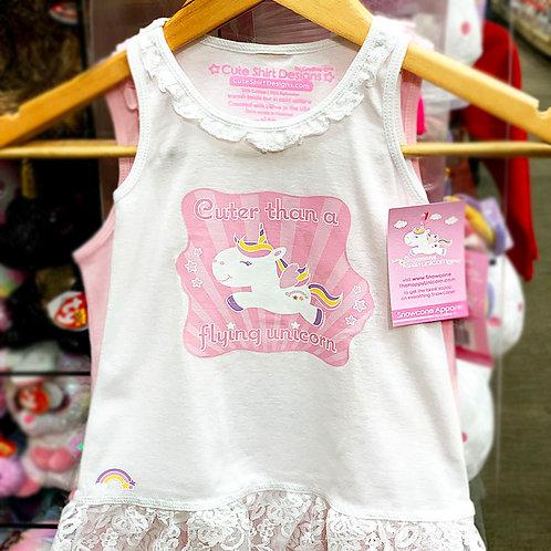 Snowcone Cuter Than a Flying Unicorn Lace Dress