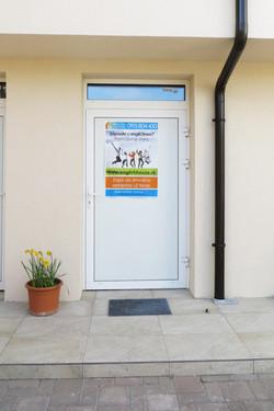 entrance to English House