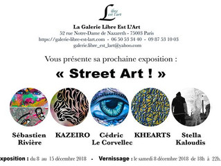 Street Art Exhibition - Paris