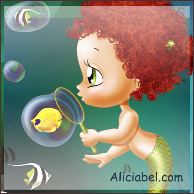 Little Mermaid Bubles