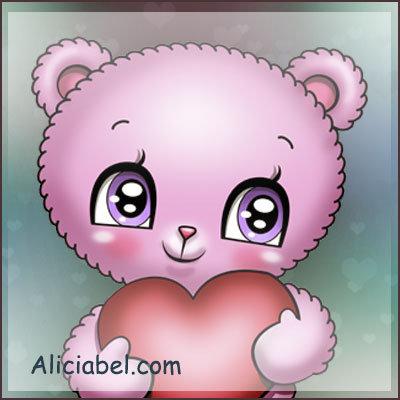 Cotton Candy Little Bear