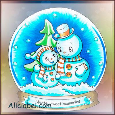 Christmas Snowsphere