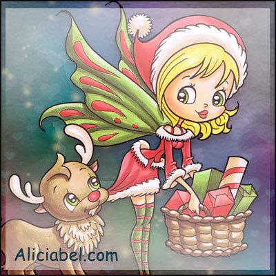 Faery & Little Reindeer