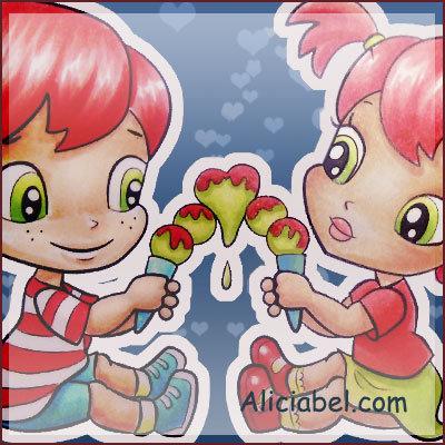 Ice-Cream Cone with Love