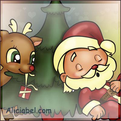 Santa Claus Sleepyhead
