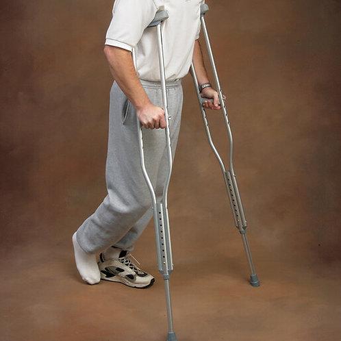 Aluminum Adjustable Crutches