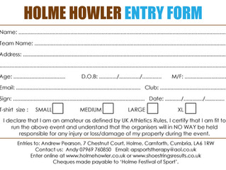 *** ENTRY FORMS FOR 2017 NOW AVAILABLE ***