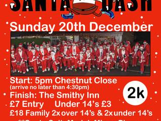Santa Dash 20th December