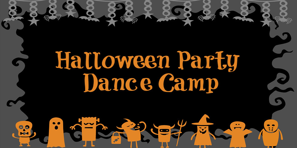 Halloween Party Dance Camp (3-8yrs)