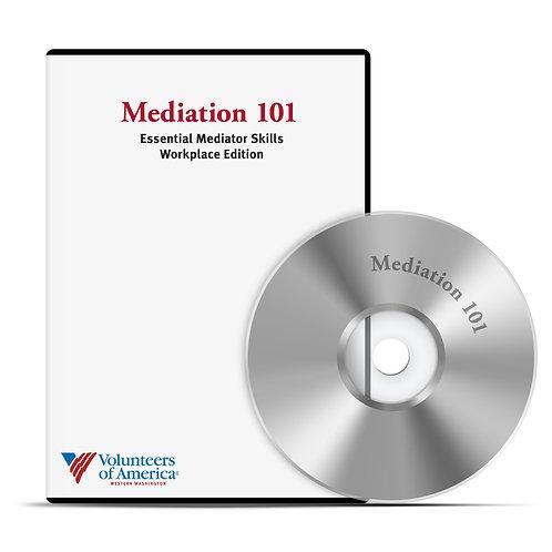 Mediation 101 DVD - Essential Mediator Skills Workplace Edition