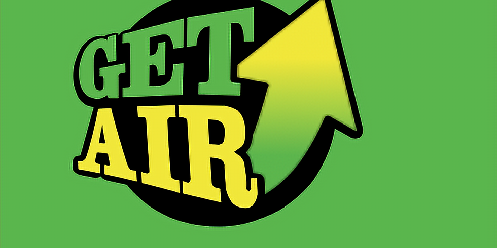 Cancelled- will be rescheduled for later time. B+T - Toddler Time at Get Air Sunday 4/29