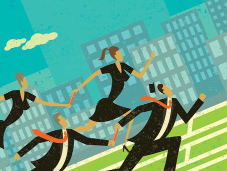 テレワークを成功に導く方法1:分業とチームワーク
