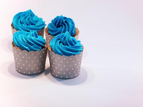 Standard cupcakes - 6 stk