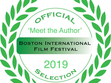MEET THE AUTHOR in Beantown!