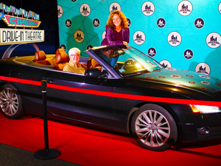 """Red Carpet DRIVE-THROUGH at the DRIVE-IN for """"Goodbye Honey"""""""