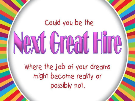 Introducing NEXT GREAT HIRE