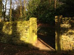 Side entrance on Parkside