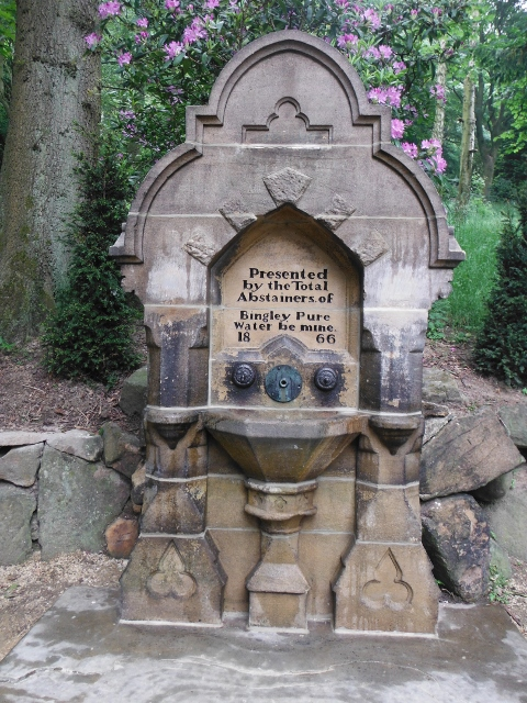 Renovated Drinking Fountain